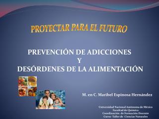 PROYECTAR PARA EL FUTURO