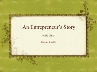 An Entrepreneur's Story: Walt Disney