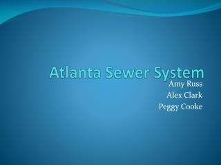 Atlanta Sewer System