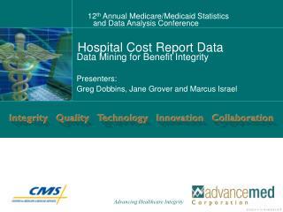 Hospital Cost Report Data