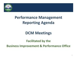 Performance Improvement  Update