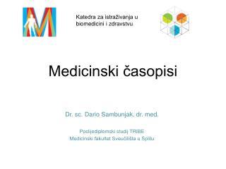 Medicinski casopisi