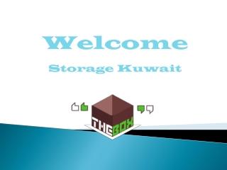 online storage space and storage solution in Kuwait