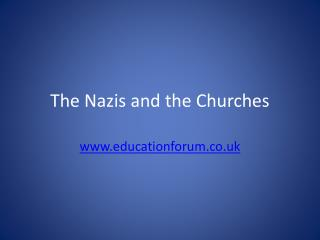 The Nazis and the Churches
