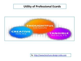 Utility of Ecards