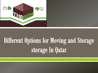 smart storage company in Qatar