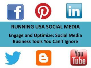 RUNNING USA SOCIAL MEDIA