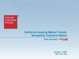 California Housing Market Trends: Navigating Turbulent Waters