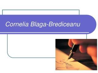 Cornelia Blaga-Brediceanu