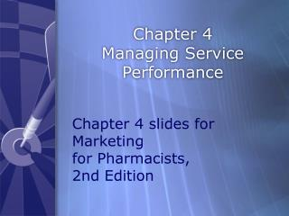 Chapter 4 Managing Service Performance