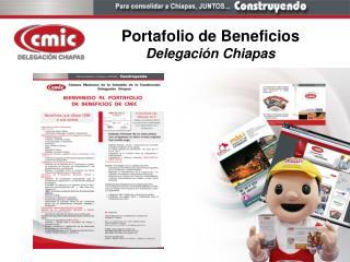 Portafolio de Beneficios Delegaci n Chiapas