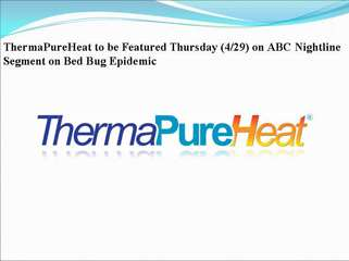 thermapureheat to be featured thursday (4/29) on abc nightli
