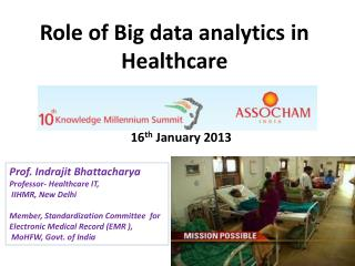 Role of Big data analytics in Healthcare