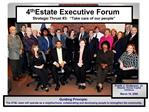 4th Estate Executive Forum Strategic Thrust 3:   Take care of our people