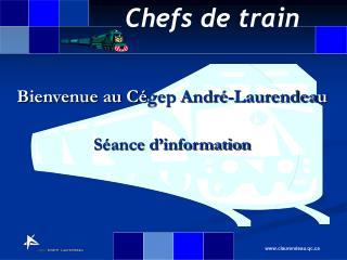 Bienvenue au C gep Andr -Laurendeau  S ance d information