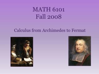 MATH 6101 Fall 2008