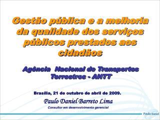 Ag ncia  Nacional de Transportes Terrestres - ANTT