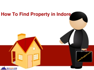 How to find property in Indore