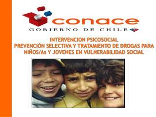 FICHA T CNICA PROYECTOS  PSICOSOCIALES