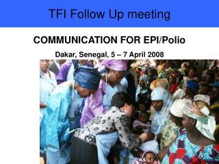 TFI Follow Up meeting