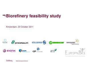 Biorefinery feasibility study