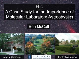 H3: A Case Study for the Importance of Molecular Laboratory Astrophysics