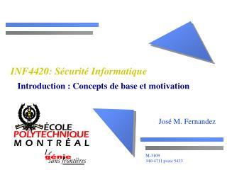 INF4420: S curit  Informatique