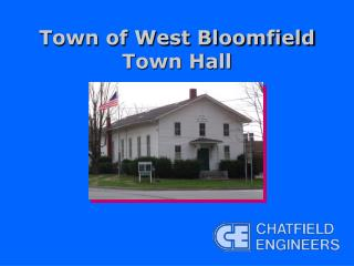 Town of West Bloomfield Town Hall