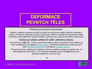 DEFORMACE PEVN CH TELES