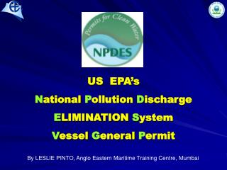 US  EPA s  National Pollution Discharge  ELIMINATION System  Vessel General Permit