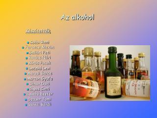 Az alkohol