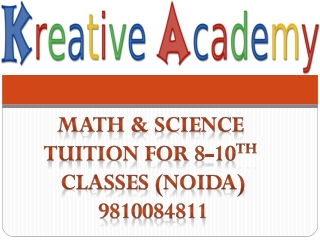Science coaching classes near cambridge school