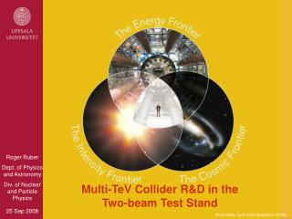 Multi-TeV Collider RD in the Two-beam Test Stand