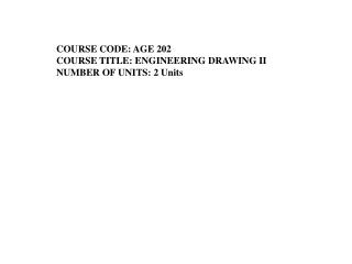 Unit 5.  Dimensioning Mechanical   Drawings