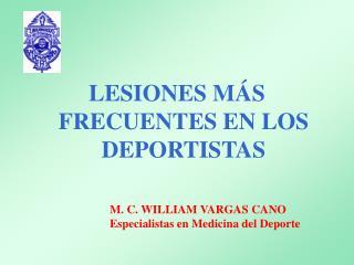 LESIONES M S FRECUENTES EN LOS DEPORTISTAS