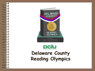 Delaware County  Reading Olympics