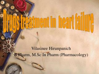 Vilasinee Hirunpanich B.Pharm, M.Sc In Pharm Pharmacology