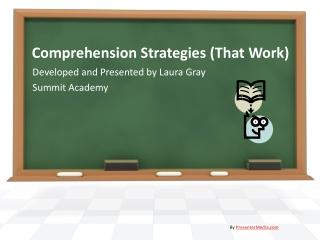 Comprehension Strategies that Work