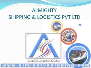 ALMIGHTY  SHIPPING  LOGISTICS PVT LTD