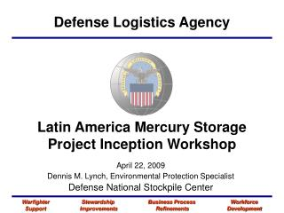 Latin America Mercury Storage Project Inception Workshop
