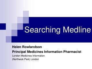 Searching Medline