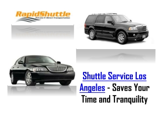 Shuttle Service Los Angeles