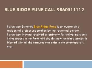 Blue Ridge Pune 2Bhk Fantastic Homes