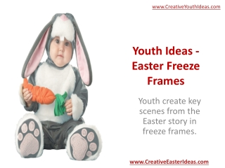 Youth Ideas - Easter Freeze Frames