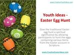 Youth Ideas - Easter Egg Hunt
