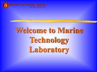 Welcome to Marine Technology Laboratory