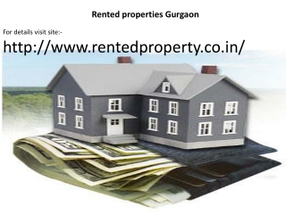 Rented Property Gurgaon