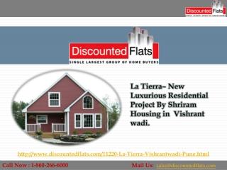 Buy 2 & 2.5BHK flats in Vishrant wadi - La Tierra