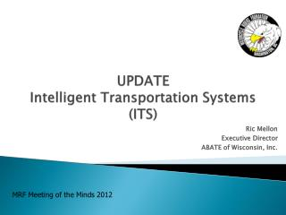 UPDATE  Intelligent Transportation Systems ITS