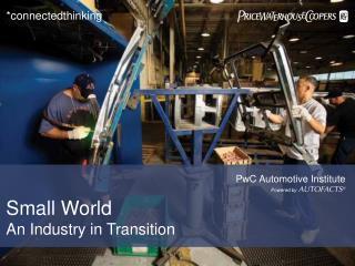 PwC Automotive Institute